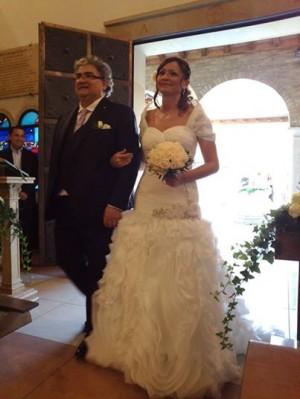 I nostri clienti - Le loro opinioni sui nostri abiti da sposa e sposo