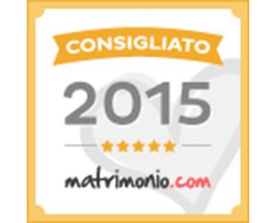 Premio Consigliato 2015 - Matrimonio.com